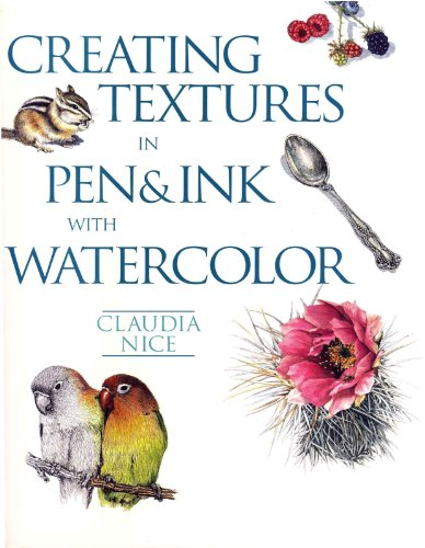 Creating Textures in Pen & Ink with Watercolor (English Edition)