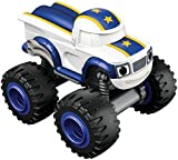 Blaze and the Monster Machines - Nickelodeon Darington básico vehículo, color blanco (Fisher-Price CGH55)