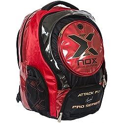 Nox Attack Pro P.1 - Mochila, color rojo, talla única
