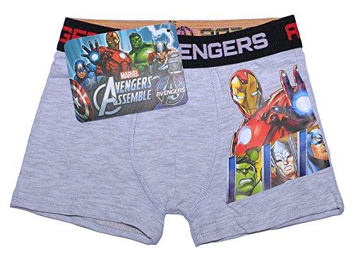 Offizielles Marvel Avengers Assemble Boxer Shorts für Jungen