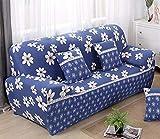 SSDLRSF Universalgröße Sofabezug Big Elasticity Couchbezüge LoveseatStretch Funiture Flexibler Schonbezug Home Print All wrap Hochzeit (90-300cm), XD09,4 Sitzer 230-300cm