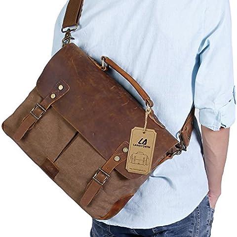 Langforth Genuine Leather Vintage 15.6