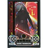 Star Wars El Despertar De La Fuerza Force Attax Extra Papel Dorado Carta #126 Kylo Ren