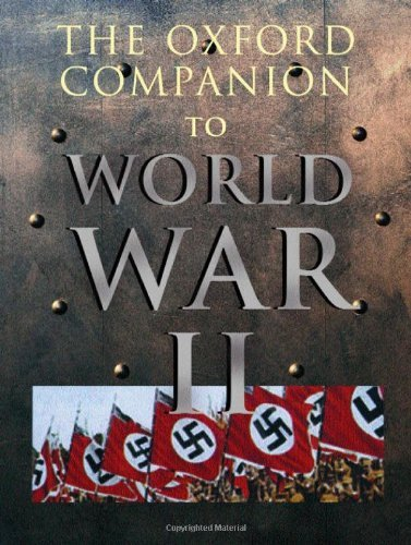Oxford Companion to World War II by Ian Dear (October 01,2001)
