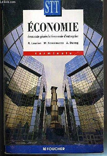 Economie : Terminale STT