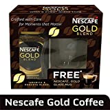 #1: Nescafe Gold Promo Pack, 100g with Free Glass Cup