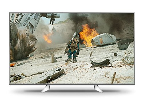 Panasonic TX-55EXW604S 139 cm (55 Zoll) Fernseher (4K ULTRA HD, HDR Multi, 1.300Hz bmr, Quattro Tuner, TV>IP Client, USB Recording) silber