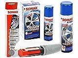SONAX XTREME Felgenreiniger mit Felgenbürste Ultra-Soft & Felgenversiegelung, SET