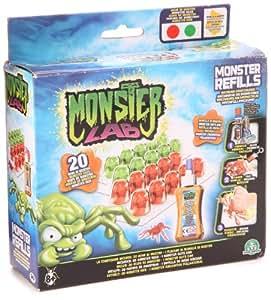 Monster Lab - 3184 - Kit de Loisir Créatif - Recharge de Monstres - Rouge/Vert