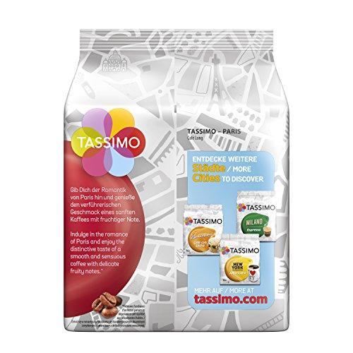 Order Tassimo Paris Café Long, 16 coffee capsules, 5-pack (5 x 107 g) - Tassimo