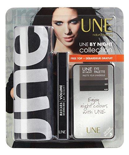 Coffret Une natural beauty -UNE BY NIGHT COLLECTION Mascara V01, Palette P04 + 1 Débardeur gratuit
