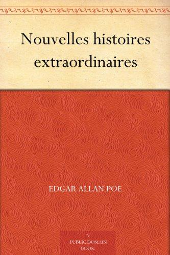 Couverture du livre Nouvelles histoires extraordinaires