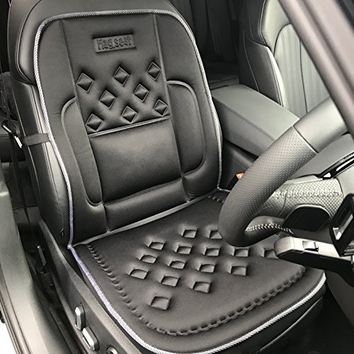 Medipaq Car Seat SUPPORT Cushion Cover - 24 Air-Flow Pockets - 8 Magnets + BACK and SIDE Supports!