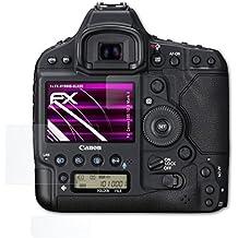 atFoliX Canon EOS 1D X Mark II Verre film protecteur - Set de 1 FX-Hybrid-Glass 9H Protection Écran Film de verre en plastique - mieux que vrai verre verre pare-balles