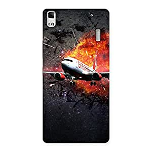 Premier Blast Plain Multicolor Back Case Cover for Lenovo K3 Note