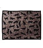 UPPERCASE Haustierdecke COOL CATS, Taupe / Schwarz, 75 x 100 cm - 2