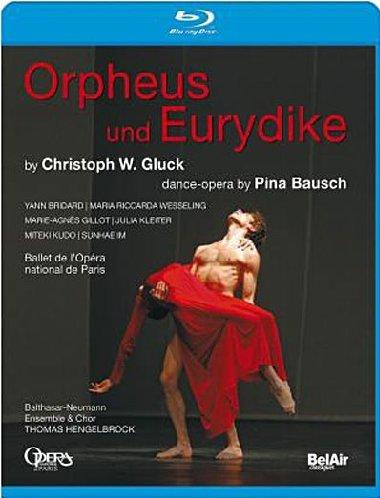 Orphée et Eurydice (chorégraphie Pina Bausch) [Blu-ray]