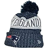 NFL On Field New Era Bommelmütze Beanie Diverse Teams (one Size, New England Patriots)