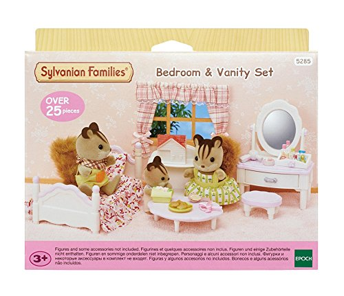 Sylvanian Families Schlafzimmer & Schminktisch-Set
