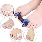 Wgwioo 5 in 1 Toe Stretchers/Toe Separator, Bunion Schmerzlinderung, Für Sport, Yoga, Laufen