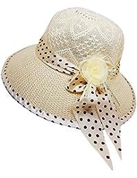 RAAYA Women's Polyester Hats (layhyhytr4, Cream, Free Size)