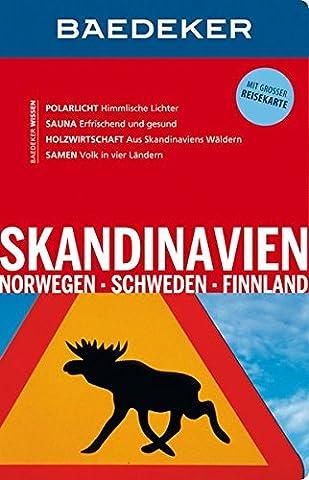 Baedeker Reiseführer Skandinavien, Norwegen, Schweden, Finnland: mit GROSSER