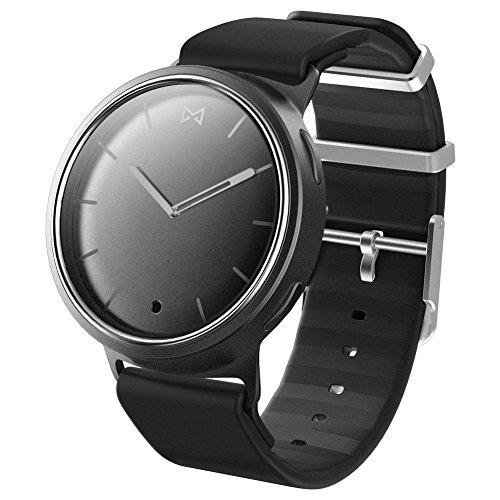 Misfit Phase Negro, Plata Reloj Inteligente - Relojes Inteligentes (Analógica, Negro, Plata)