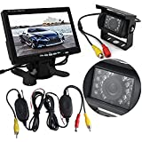 Auto Wayfeng® Wireless Rear View Camera + 7-Zoll-TFT-LCD-Monitor +...