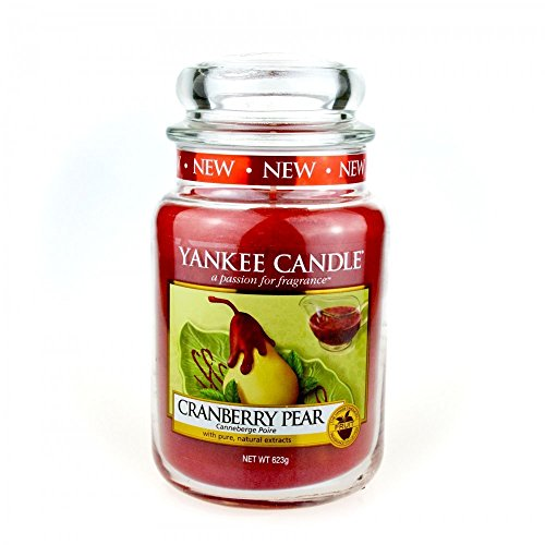 Yankee Candle Cranberry Pear 22oz Large Jar - New for