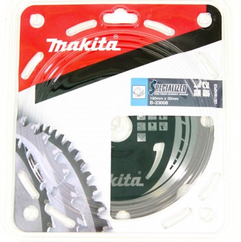 Makita b-23008Makita 23008SPECIALIZED 190x 30mm 4Z Faser Zement Board Sägeblatt-Schwarz