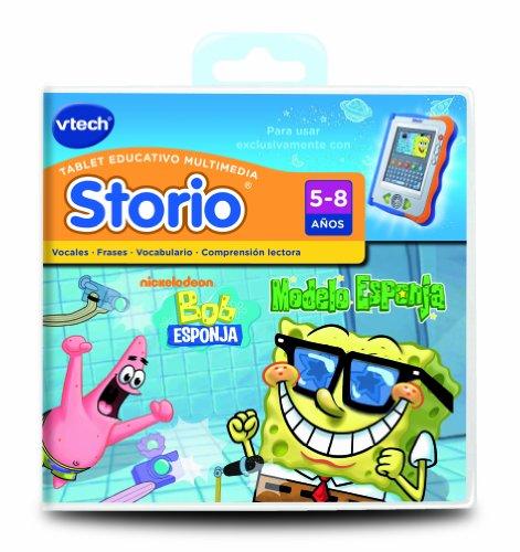 VTech Storio - Bob Esponja para Storio  80-281422