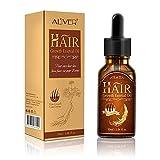 Haarwuchs-Serum, Natürliches Kräuter-Anti-Haarausfall-Haar-Serum - Perfekt für Dünnes Haar, Stärkung Der Haarwurzeln, Förderung Des Haarwachstums und Der Haarverdickung (30 Ml)