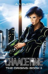 Chaacetime: The Origins - Book 2: A thrilling Hard Science Fiction Detective Trilogy (The Space Cycle - A Metaphysical & Hard Science Fiction Series) (English Edition)