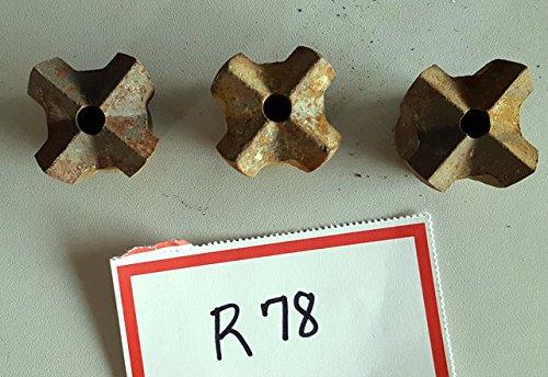 1–1/10,2cm Hartmetall Rock Cross Bohrer, r78amz