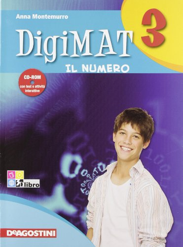 Digimat. per la scuola media. con cd-rom: digimat 3 alg+inv +cd