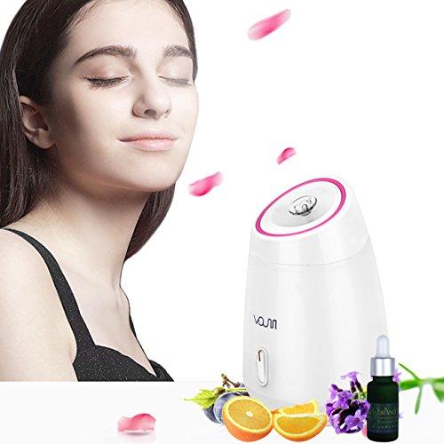 Sauna Facciale , Sauna Steam,Voumey Professional Electric Thermal Spa Facial sauna Mist vapore e il vapore inalatore e aromaterapia , SPA a Casa