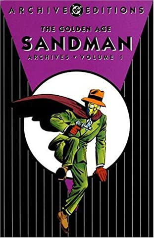 Sandman Tome 10 - Golden Age Sandman Archives HC Vol 01