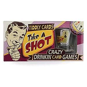 Cheatwell Games Juego de Cartas Take A Shot-Drinking