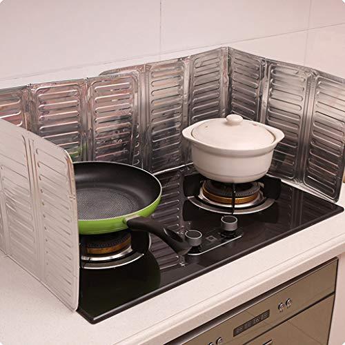 Lomsarsh Küchenherd-Platten-Deflektor-Platten-Isolierungs-Blatt Aluminium 2PCS