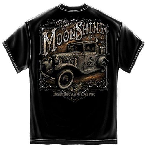 White Lightning Moonshine American-Maglietta classica