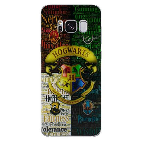 Harry Potter Telefon Hülle/Case für Samsung Galaxy S7 (G930) mit Displayschutzfolie/Silikon Weiches Gel/TPU/iCHOOSE/Hogwartshaus