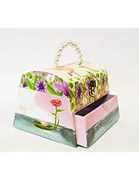 UniqueGift Caja de música de Hadas con Mango de Perla – Regalo para Ella – Caja