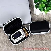 Decdeal Oximeter Case Finger tip Pu-lse Ox-imeter حقيبة تخزين أكسفورد محمولة سحاب حقيبة حمل