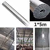 1M * 5M Anlage Dachisolierung Film Doppelfolie Blase Aluminium