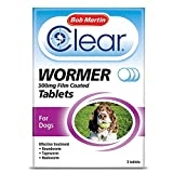 Bob Martin Clear All in 1 Wormer Tablets for Large Dogs
