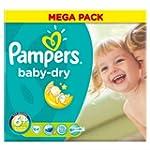 Pampers Baby Dry Lot de 5 paquets de...