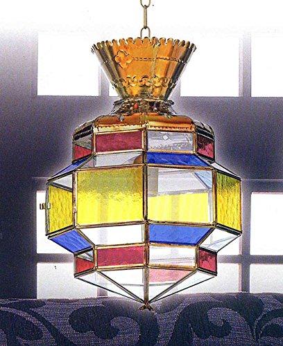 Faroles Artesanales Granadinos : Modelo AL ANDALUS 402 de 30x45x30cms.