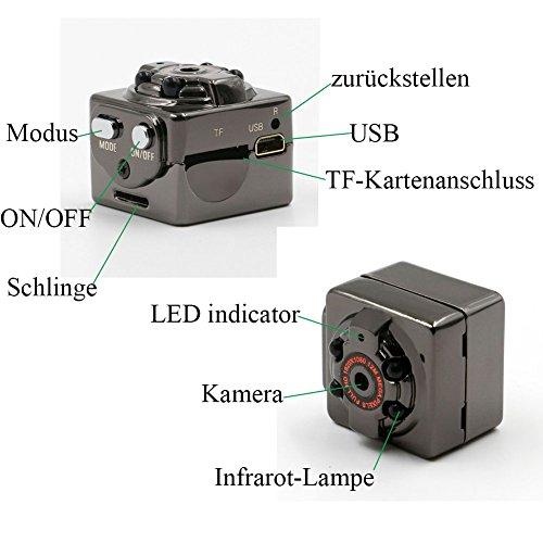Tangmi 1080P volle HD Mini Kamera - 5