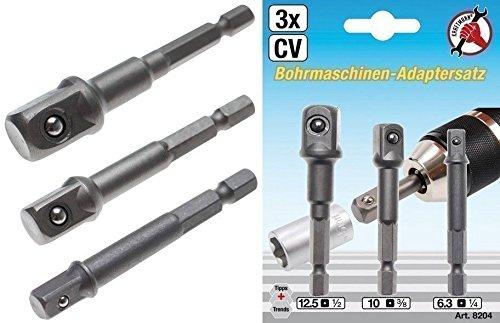 Kraftmann 8204 Juego de adaptadores