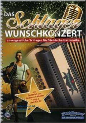 Preisvergleich Produktbild Das Schlager Wunschkonzert - Steirische Harmonika Noten [Musiknoten]